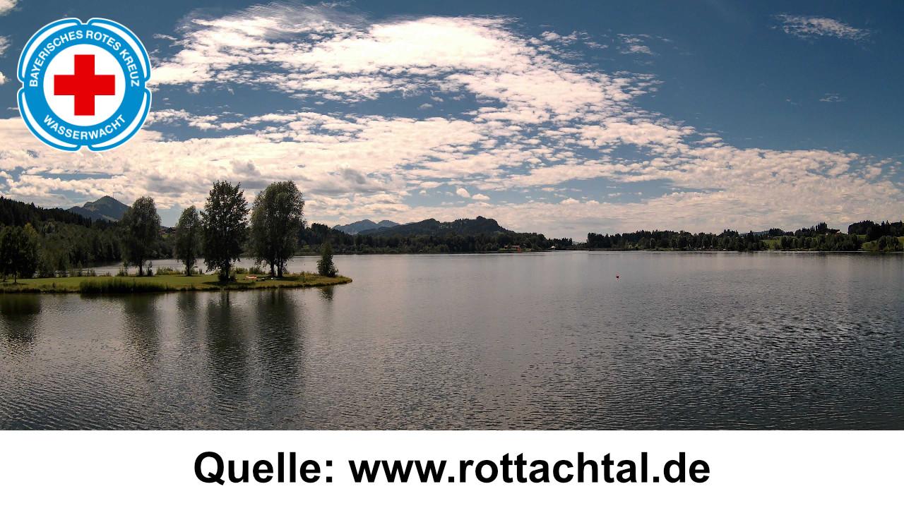 Webcam Rottachsee -Rottachspeicher